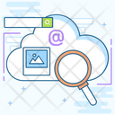 Cloud Data Cloud Hosting Cloud Storage Icon