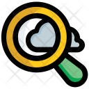 Cloud Search Computing Icon