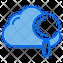 Cloud Data Work Icon