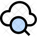 Cloud Search Cloud Magnifying Online Search Icon