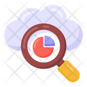 Search Data Cloud Business Cloud Search Icon