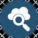 Cloud Search Cloud Computing Icon
