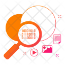 Cloud Search Network Icon