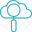 Cloud Search Cloud Computing Cloud Monitoring Icon