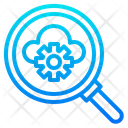 Cloud Search Management Icon