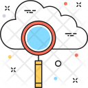 Cloud Search Internet Icon
