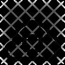 Shield Cloud Network Icon