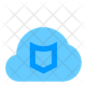 Shield Cloud Network Icon