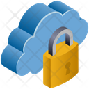 Cloud Secuirty Icon