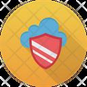 Cloud Secure Shield Cloud Icon