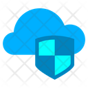 Cloud Secure Cloud Protection Secure Cloud Icon