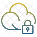 Cloud Secure Secure Cloud Storage Server Protection Icon