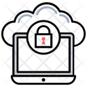 Cloud Security Icon