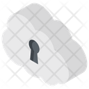 Cloud Security Cloud Computing Secure Network Icon