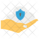 Cloud Security Cloud Data Cloud Computing Icon