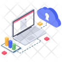 Cloud Security Cloud Protection Cloud Computing Icon