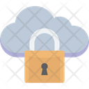 Cloud Security Cloud Computing Network Security Icon