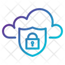 Cloud Lock Protection Icon