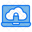 Cloud Web Browser Security Icon
