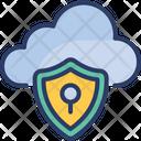 Data Computing Shield Icon