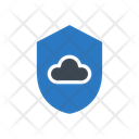 Cloud Security Database Icon