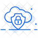 Cloud Security Cloud Protection Cloud Authentication Icon