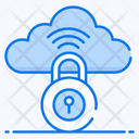 Cloud Security Cloud Protection Locked Cloud Icon