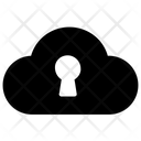 Cloud Security Locked Cloud Cloud Protection Icon