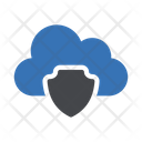 Cloud Shield Security Icon