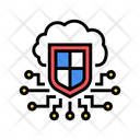 Electonic Cloud Protection Icon