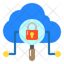 Network Security Cloud Icon