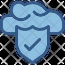 Firewall Cloud Security Cloud Computing Icon