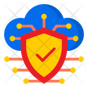 Protect Network Cloud Icon