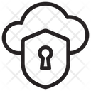 Cloud Security Cloud Protection Security Icon