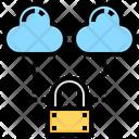 Cloud Security Cloud Computing Icon
