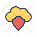 Security Shield Cloud Icon
