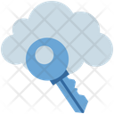 Cloud Computing Key Icon