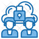 Security Cloud System Online Icon