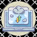 Cloud Server Web Storage Icon