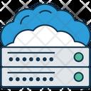 Cloud Server Cloud Computing Cloud Hosting Icon