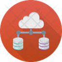 Cloud Server Cloud Computing Icon