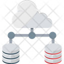 Cloud Server Cloud Computing Cloud Database Icon