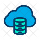 Cloud Database Online Data Icon