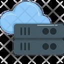 Upload Data Cloud Computing Icon