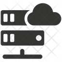 Cloud Hosting Server Icon