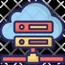 Computer Network Server Rack Shared Server Icon