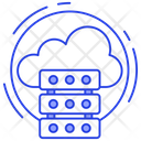 Cloud Computing Cloud Hosting Cloud Data Icon