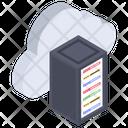 Cloud Server Cloud Hosting Cloud Backup Icon