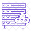 Server Cloud Storage Icon