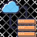 Cloud Serverv Cloud Server Server Icon